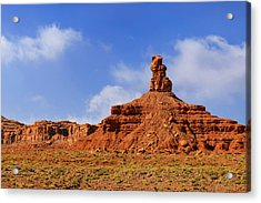 Valley Of The Gods Utah Acrylic Print by Christine Till