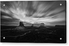 Valley Of Time Acrylic Print
