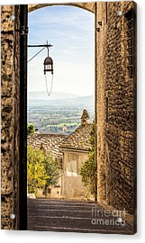 Valley Outside Assisi Acrylic Print