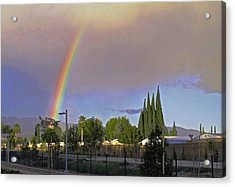 Valley Rainbow 3 Acrylic Print