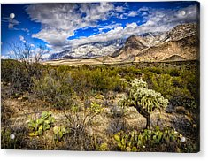 Acrylic Print featuring the photograph Valley View 27 by Mark Myhaver