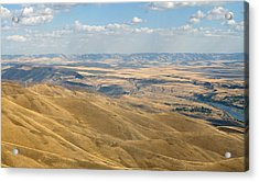 Acrylic Print featuring the photograph Valley View by Mark Greenberg