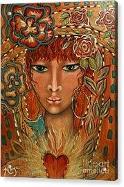 Valor Acrylic Print by Maya Telford