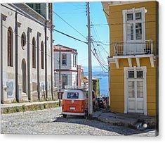 Valparaiso Chile Acrylic Print by Eric Dewar