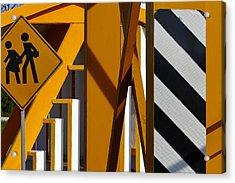 Vamenos Acrylic Print by Skip Hunt