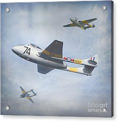 Acrylic Print featuring the photograph Vampire Jet II by Roy  McPeak
