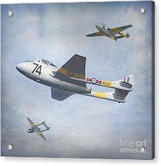 Vampire Jet II Acrylic Print by Roy  McPeak