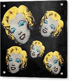 Vampire Marilyn 5 Acrylic Print by Filippo B