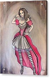 Vampire Mihela Acrylic Print