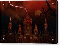 Vampire Palace Acrylic Print