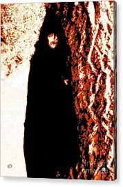 Vampire Red  Acrylic Print by First Star Art