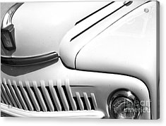 Acrylic Print featuring the photograph Van Abstract by Mae Wertz