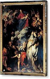 Van Dyck Anton O Antoon, Madonna Acrylic Print by Everett