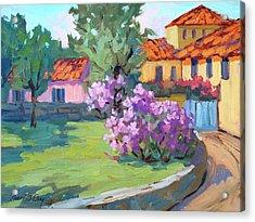 Van Gogh Hospital St. Remy Acrylic Print