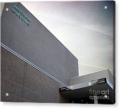 Acrylic Print featuring the photograph Van Gogh Museum Exterior by Michael Edwards