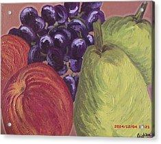 Van Gogh's Fruits Acrylic Print