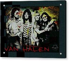 Van Halen - Ain't Talkin' 'bout Love Acrylic Print
