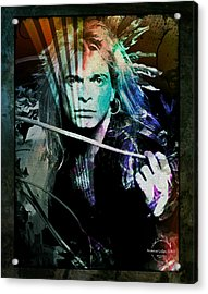 Van Halen - David Lee Roth Acrylic Print