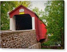 Van Sandt Bridge Acrylic Print