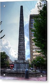 Vance Monument Asheville North Carolina Acrylic Print