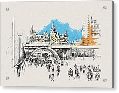 Vancouver Art 003 Acrylic Print by Catf
