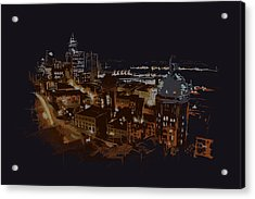 Vancouver Art 009 Acrylic Print by Catf