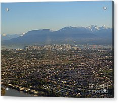 Vancouver At A Glance Acrylic Print
