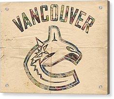 Vancouver Canucks Logo Art Acrylic Print