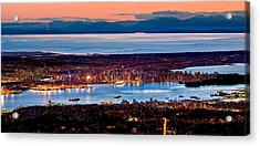 Vancouver From Above Acrylic Print by Alexis Birkill
