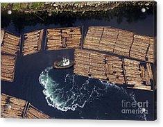 Vancouver Island Logging Acrylic Print
