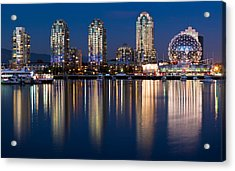 Vancouver Postcard Acrylic Print by Alexis Birkill
