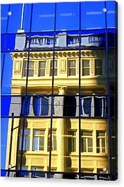 Vancouver Reflections 2 Acrylic Print by Randall Weidner