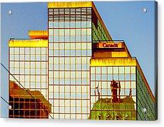 Vancouver Reflections No 2 Acrylic Print by Ben and Raisa Gertsberg