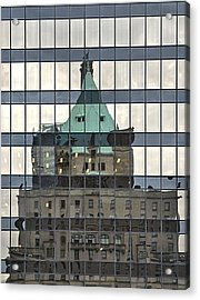 Vancouver Reflections Acrylic Print by Steven Richman