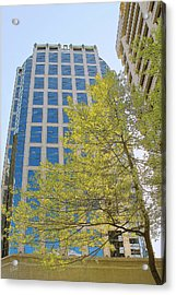 Vancouver Silhouettes No 1 Acrylic Print by Ben and Raisa Gertsberg