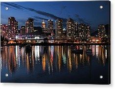 Vancouver Skyline Acrylic Print