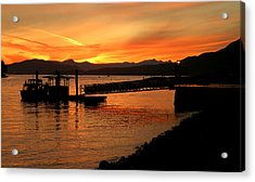 Vancouver Sunset Acrylic Print