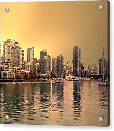 Vancouver Triptych Right Panel Acrylic Print by Patricia Keith