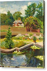 Vanderbilt Italian Garden Acrylic Print