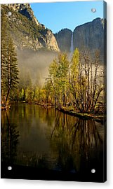 Acrylic Print featuring the photograph Vanishing Mist by Duncan Selby