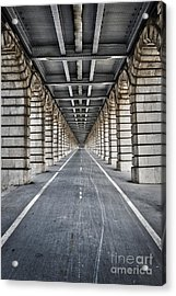 Vanishing Point Acrylic Print by Delphimages Photo Creations