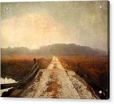 Vanishing Point Acrylic Print by Karen Lynch