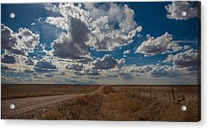 Acrylic Print featuring the photograph Days Of Our Lives In Kansas by Shirley Heier