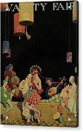 Vanity Fair Cover Featuring An Ensemble Acrylic Print