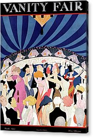 Vanity Fair Cover Featuring Elegant Dancers Acrylic Print
