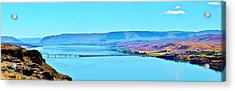 Vantage Bridge Over The Columbia River Acrylic Print
