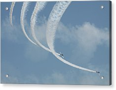 Vapor Trails In The Empty Air Acrylic Print