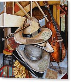 Vaquero De The Hats Acrylic Print