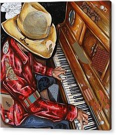 Vaquero De The Piano Acrylic Print