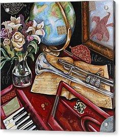 Vaquero De The World Acrylic Print